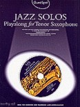 Ok�adka: Lesley Simon, Jazz Solos Playalong For Tenor Saxophone
