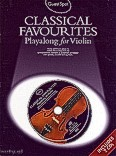 Ok�adka: Hussey Christopher, Skirrow Andrew, Classical Favourites Playalong For Violin