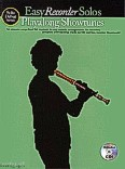 Ok�adka: R�ni, Playalong Showtunes - Easy Recorder Solos (+ CD)