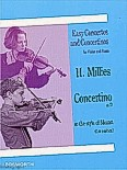 Ok�adka: Millies Hans Mollenhauer, Concertino In D In The Style Of Mozart