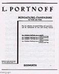 Okładka: Portnoff Leo, Russian Fantasia No.1 in A Minor