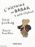Ok�adka: Poulenc Francis, Brunhoff Jean de, L'Histoire Du Babar