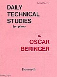 Okładka: Beringer Oscar, Daily Technical Studies For Piano