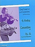 Ok�adka: Rieding Oskar, Concertino For Violin And Piano In D Op.25