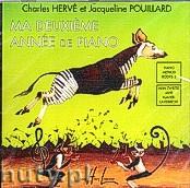 Okładka: Pouillard Jaqueline, Hervé Charles, Mein Zweites Jahr Klavierunterricht