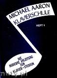 Okładka: Aaron Michael, Michael Aaron, Klavierschule, vol. 1