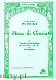 Okładka: Puccini Giacomo, Messa Di Gloria (Vocal Score)