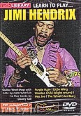 Ok�adka: Hendrix Jimi, Lick Library: Learn To Play Jimi Hendrix