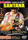 Okładka: Santana Carlos, Lick Library: Learn To Play Santana