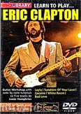 Okładka: Clapton Eric, Lick Library: Learn To Play Eric Clapton