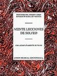 Okładka: Różni, Varios Veinte Lecciones De Solfeo