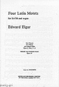 Okładka: Elgar Edward, Four Latin Motets
