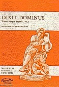 Ok�adka: H�ndel George Friedrich, Dixit Dominus, Three Vesper Psalms, No.1