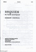 Okładka: Howells Herbert, Requiem