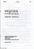 Ok�adka: Howells Herbert, Requiem