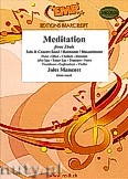 Ok�adka: Massenet Jules, Meditation From Thais - Alto Saxophone & Wind Band