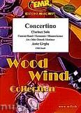 Okładka: Grgin Ante, Concertino - Clarinet & Wind Band