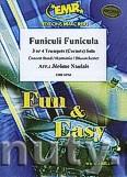 Ok�adka: Naulais J�r�me, Funiculi Funicula - 3 Trumpets & Wind Band