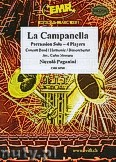 Okładka: Paganini Niccolo, La Campanella for Percussion Solo and Wind Band