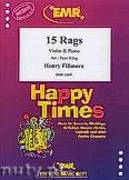 Okładka: Fillmore Henry, 15 Rags - Violin & Piano