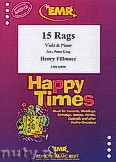 Okładka: Fillmore Henry, 15 Rags - Viola & Piano