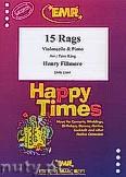 Okładka: Fillmore Henry, 15 Rags - Violoncello & Piano
