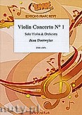 Okładka: Daetwyler Jean, Violin Concerto N°1 (Solo Violin) - Solo with Orchestra Accompaniment