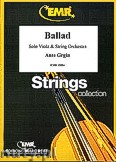 Ok�adka: Grgin Ante, Ballad (Solo Viola) - Solo with Strings Accompaniment