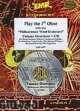 Ok�adka: R�ni, Play the 1st Oboe + CD - Play with the Philharmonic Wind Orchestra