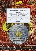 Ok�adka: R�ni, Play the 1st Alto Sax + CD - Play with the Philharmonic Wind Orchestra