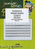 Okładka: Mortimer John Glenesk, Technical & Melodic Studies Vol. 4 - Clarinet Tutors & Studies