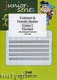 Okładka: Mortimer John Glenesk, Technical & Melodic Studies Vol. 5 - Clarinet Tutors & Studies