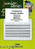 Okładka: Mortimer John Glenesk, Technical & Melodic Studies Vol. 2 - Bassoon Tutors & Studies