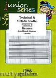 Okładka: Mortimer John Glenesk, Technical & Melodic Studies Vol. 4 - Bassoon Tutors & Studies