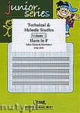 Okładka: Mortimer John Glenesk, Technical & Melodic Studies Vol. 1 - Horn Tutors & Studies
