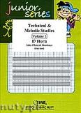 Okładka: Mortimer John Glenesk, Technical & Melodic Studies Vol. 1 - Eb Horn Studies