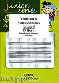 Ok�adka: Mortimer John Glenesk, Technical & Melodic Studies Vol. 4 - Eb Horn Studies