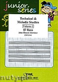 Ok�adka: Mortimer John Glenesk, Technical & Melodic Studies Vol. 1 (Eb) - Eb - Bb Bass Studies