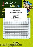 Okładka: Mortimer John Glenesk, Technical & Melodic Studies Vol. 6 (Eb) - Eb - Bb Bass Studies