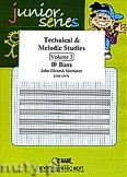 Okładka: Mortimer John Glenesk, Technical & Melodic Studies Vol. 3 (Bb) - Eb - Bb Bass Studies