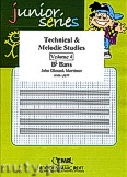 Okładka: Mortimer John Glenesk, Technical & Melodic Studies Vol. 4 (Bb) - Eb - Bb Bass Studies