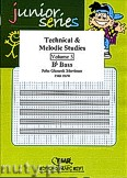 Okładka: Mortimer John Glenesk, Technical & Melodic Studies Vol. 5 (Bb) - Eb - Bb Bass Studies