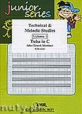 Okładka: Mortimer John Glenesk, Technical & Melodic Studies Vol. 1 - Tuba Studies