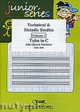 Okładka: Mortimer John Glenesk, Technical & Melodic Studies Vol. 3 - Tuba Studies