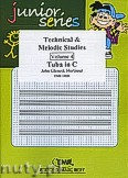 Okładka: Mortimer John Glenesk, Technical & Melodic Studies Vol. 4 - Tuba Studies