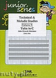 Okładka: Mortimer John Glenesk, Technical & Melodic Studies Vol. 5 - Tuba Studies