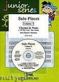 Okładka: Mortimer John Glenesk, Solo Pieces Vol. 5  + CD (Clarinet) - Clarinet & CD Playback