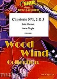 Ok�adka: Grgin Ante, Capricio No. 1, No. 2, No. 3 for Clarinet Solo