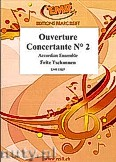 Okładka: Tschannen Fritz, Ouverture Concertante N° 2 - Accordion Ensemble