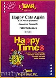 Ok�adka: Tschannen Fritz, Happy Cats Again - Accordion Ensemble